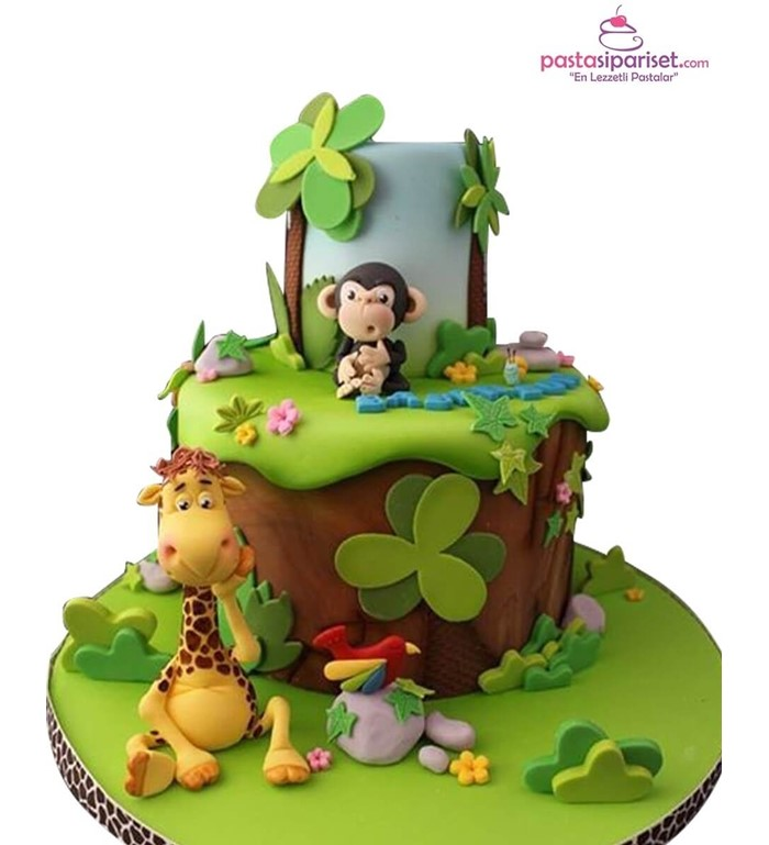 Maymum ve safari pastası